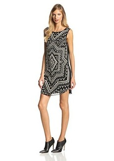 Mara Hoffman Women's Beaded-Silk Shift Dress