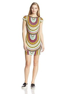 Mara Hoffman Women's Cap-Sleeve Geometric Print Sheath Dress