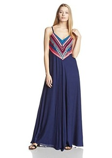 Mara Hoffman Women's Embellished Geometric Pattern Maxi Dress