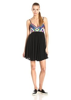 Mara Hoffman Women's Embroidered Mini Dress