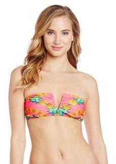 Mara Hoffman Women's Garlands V Wire Bandeau Bikini Top
