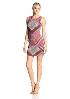 Mara Hoffman Women's Jersey Sleeveless Slit Back Mini Dress
