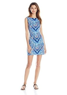Mara Hoffman Women's Modal Cut Out Back Cover Up Dress