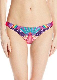 Mara Hoffman Women's Reversible Low-Rise Bikini Bottom