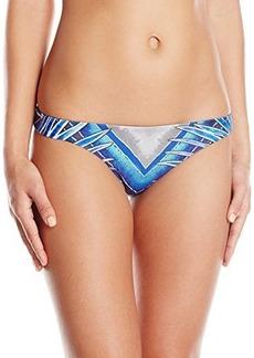 Mara Hoffman Women's Reversible Low Rise Bikini Bottom