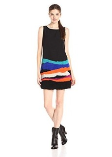 Mara Hoffman Women's Sleeveless Embellished Mini Dress, Landscape, X-Small