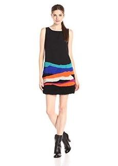 Mara Hoffman Women's Sleeveless Embellished Mini Dress, Landscape, X-Small