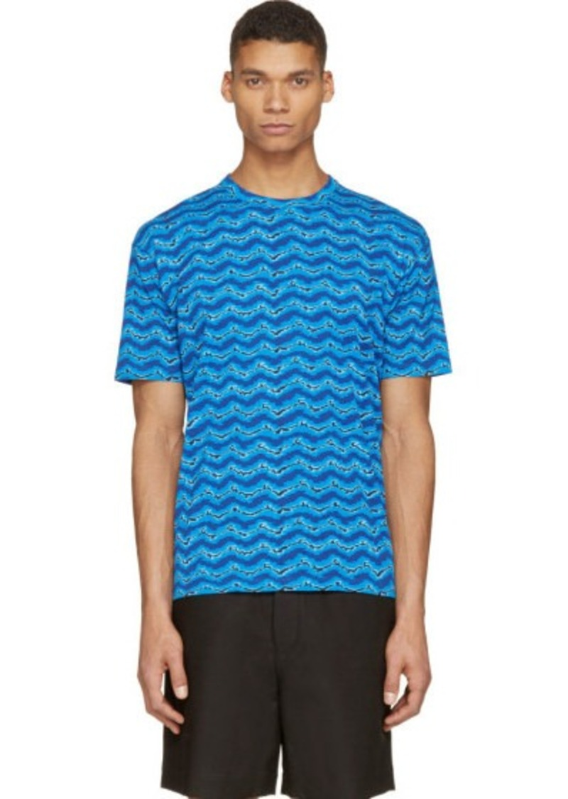 Marc By Jacobs Laukku : Marc by jacobs blue electric ikat