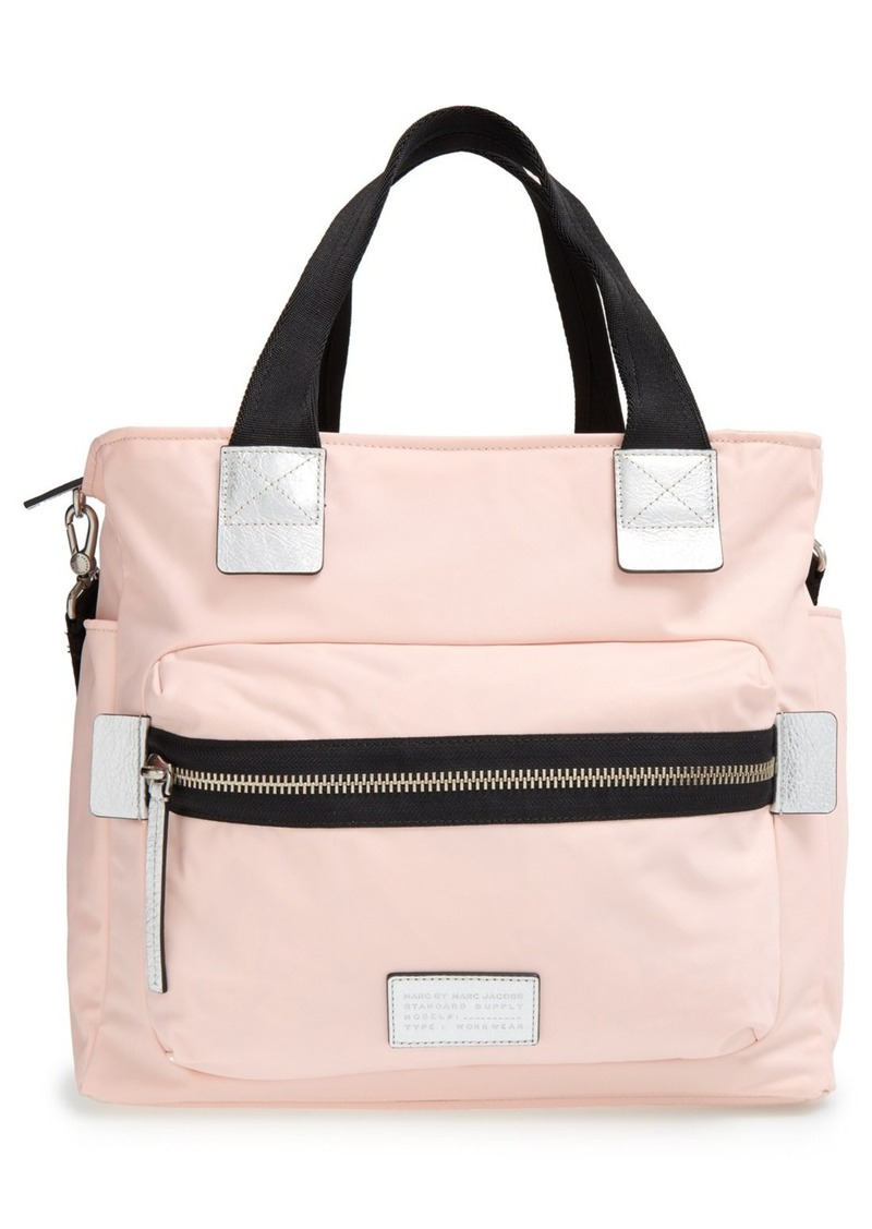marc by marc jacobs marc by marc jacobs 39 domo arigato elizababy 39 diaper bag handbags shop it. Black Bedroom Furniture Sets. Home Design Ideas