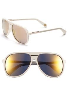 MARC JACOBS 60mm Aviator Sunglasses