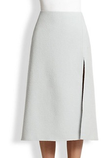 Marc Jacobs A-line Vented Wool Skirt