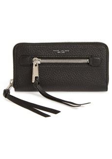 MARC JACOBS 'Big Apple Deluxe' Calfskin Leather Wallet