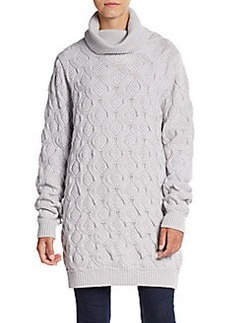 Marc Jacobs Cashmere Wave-Knit Oversized Sweater