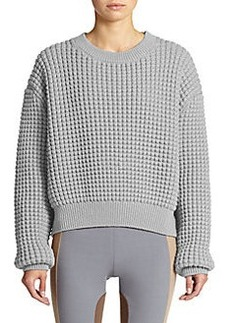 Marc Jacobs Chunky-Knit Cropped Pullover