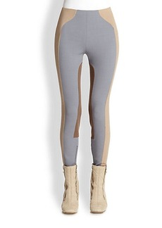 Marc Jacobs Colorblock Riding Leggings