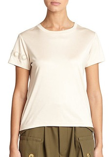 Marc Jacobs Embroidered Tee