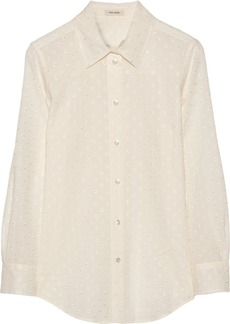 Marc Jacobs Eyelet-cotton shirt
