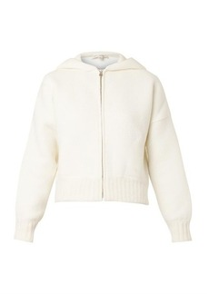 Marc Jacobs Hooded brushed-knit sweater