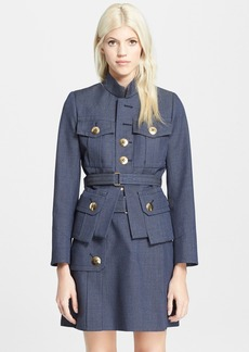 MARC JACOBS Mélange Military Suiting Jacket