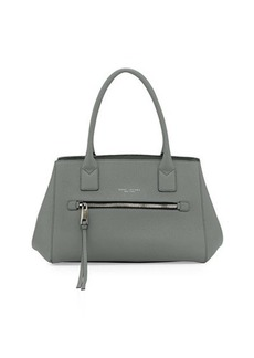 Marc Jacobs Not So Big Apple Tote Bag, Gray-Green