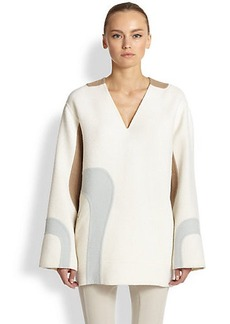 Marc Jacobs Nubby Wool Wave Tunic