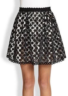 Marc Jacobs Oversized Sequin Skirt