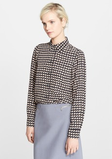 MARC JACOBS Print Button Down Blouse