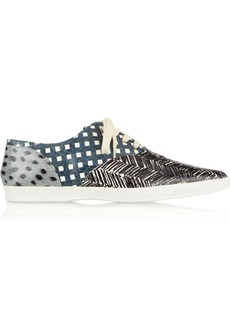 Marc Jacobs Printed elaphe sneakers