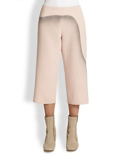 Marc Jacobs Printed Wool Cropped Pants