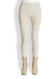 Marc Jacobs Riding Ankle-Zip Leggings