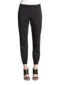 Marc Jacobs Samantha Stretch Cotton Track Pants