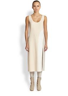 Marc Jacobs Scoopneck Colorblock Tank Dress