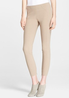 MARC JACOBS Seam Detail Ankle Zip Leggings