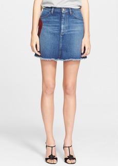 MARC JACOBS Sequin Heart Jean Skirt
