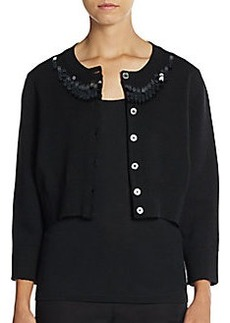 Marc Jacobs Sequined Cardigan