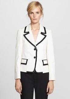MARC JACOBS Silk Trim Textured Tux Jacket