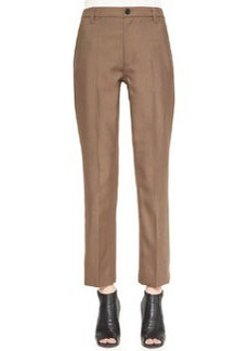 Marc Jacobs Slim Ankle Pants with Topstitch Detail