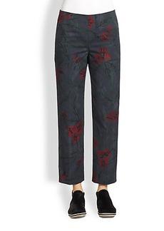 Marc Jacobs Slim Floral Pants