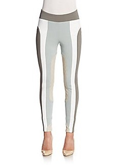 Marc Jacobs Stretch-Knit Colorblock Leggings