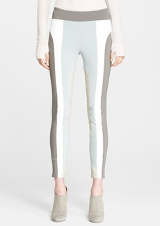 MARC JACOBS Suede Inset Leggings