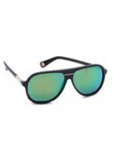 Marc Jacobs Sunglasses Mirrored Aviator Sunglasses