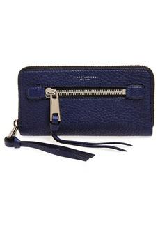 MARC JACOBS 'The Deluxe' Leather Zip Around Wallet