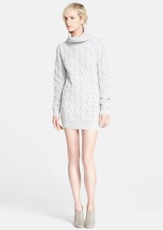 MARC JACOBS Turtleneck Cashmere Sweater Tunic Dress