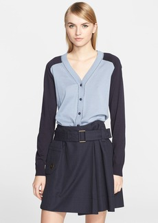 MARC JACOBS Two-Way Cotton Cardigan
