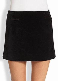 Marc Jacobs Velvet Mini Skirt