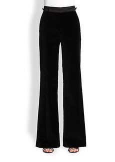 Marc Jacobs Velvet Wide-Leg Pants