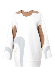 Marc Jacobs Wave-panel wool-blend tunic