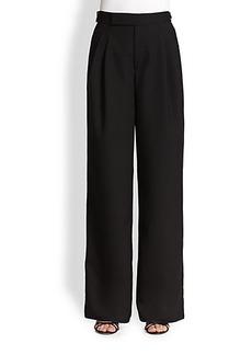 Marc Jacobs Wide-Leg Wool Trousers