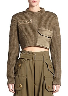 Marc Jacobs Wool Cropped Sweater