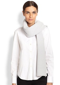 Marc Jacobs Wool/Cashmere Knit Scarf
